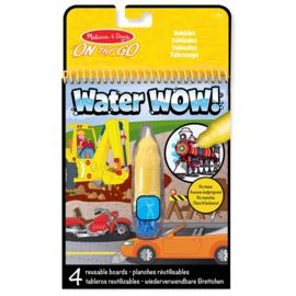 Auto's Verven met Water / Water Wow