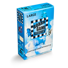 SLEEVES NON-GLARE BOARD GAME - LARGE (59X92MM)