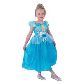 Prinses Assepoester Jurk One Size (Maat 128/134)