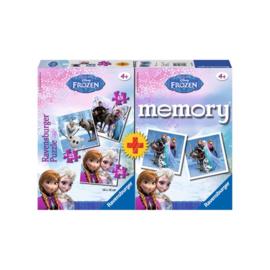 Memory met Puzzels Frozen