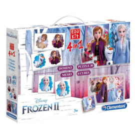 Spel Edukit 4-In-1 Frozen 2