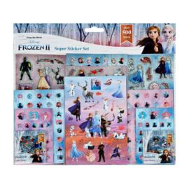 Stickerset Frozen 2     500-Delig