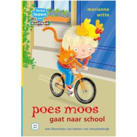 Boek Poes Moos Gaat Naar School AVI M3