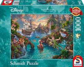 Disney Peter Pan, 1000 stukjes - Puzzel