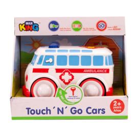 Auto Touch n Go Met Licht en Geluid Ambulance