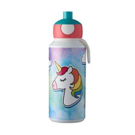 Drinkfles Pop-Up Unicorn 400 ml Mepal