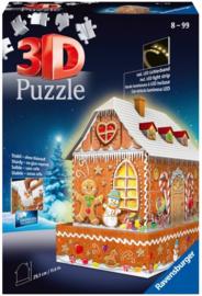 3D Puzzel Gingerbread