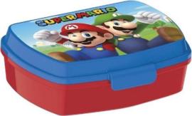 Broodtrommel Super Mario Bros Junior 17 Cm Rood/blauw