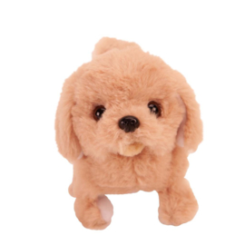 Loop en Blaf hondje (Licht bruin)