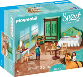 PLAYMOBIL Spirit Lucky's slaapkamer - 9476