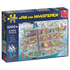 Jumbo Jan van Haasteren puzzel Cruise Ship - 1000 stukjes