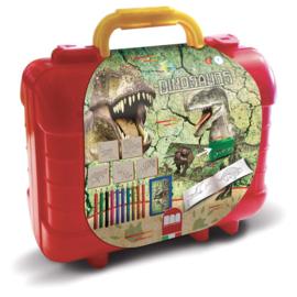 Dino Kofferset Kleuren en Stempelen