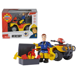 Brandweerman Sam Mercury Quad met Sam