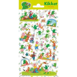 Stickers Kikker&Vriendjes