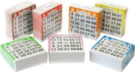 Bingo Kaarten 500 Stuks