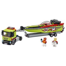 Lego City 60254 Raceboottranssport