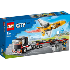 LEGO CITY 60289 AIRSHOW JET TRANSPORTER