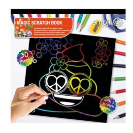 Emoji Scratch Art Book