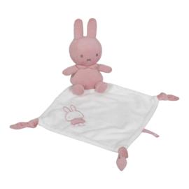 Nijntje Knuffeldoekje Roze Babyrib