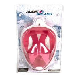 Snorkelmasker S/M Roze Alert