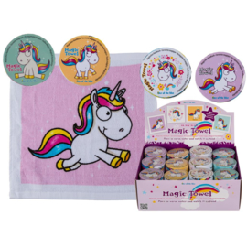 Unicorn Magic Towel Geel