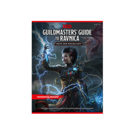 D&D GUILDMASTER'S GUIDE TO RAVNICA MAP PACK