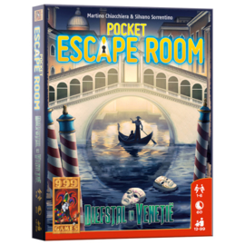 Spel Pocket Escape Room: Diefstal in Venetië