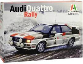 3642 Audi Quattro Rally Auto 1:24