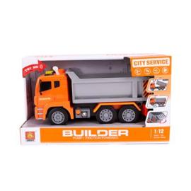 Vrachtwagen Met Pomp