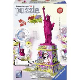 Puzzel 3D pop art vrijheidsbeeld