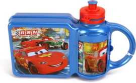 Lunchbox + Drinkfles Cars