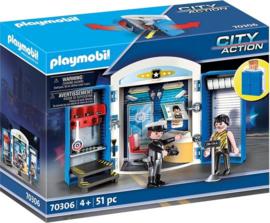 PLAYMOBIL70306 SPEELBOX Politiebureau