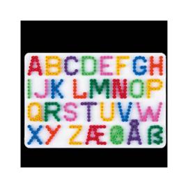 Strijkkralen grondplaat Hama Letters