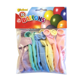 Ballon Assorti Kleuren Pastel en Macaron