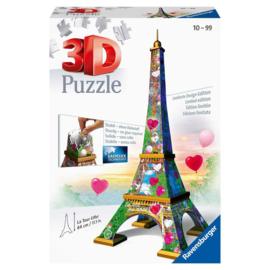 3D Puzzel Eiffeltoren Love Edition