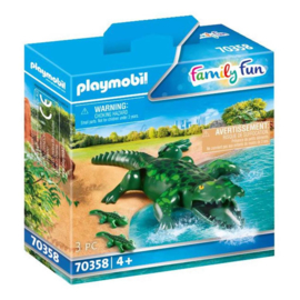 Playmobil 70358 Alligator met Baby