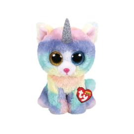 Ty Heather Cat  W/Hornboo Med 24 cm