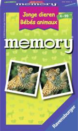 Spel Memory Jonge Dieren