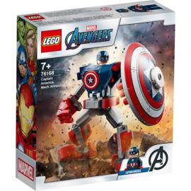 Lego Marvel Avengers 76168 Classic Captain America Mechapantser