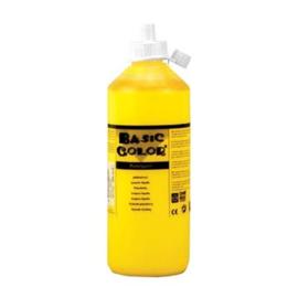 Plakkaatverf 500 ml Geel