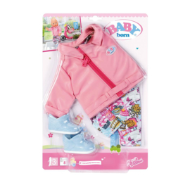 BABY BORN CITY DELUXE SCOOTER OUTFIT 43 CM