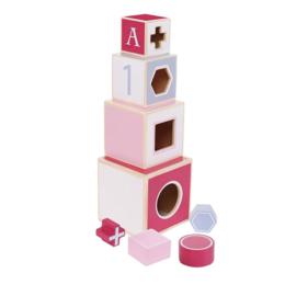 Jipy Stapeltoren Roze