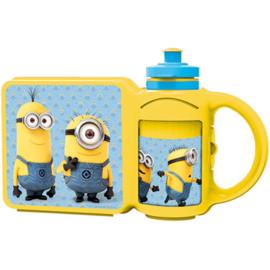 Lunchbox + Drinkfles Minions