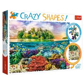 Puzzel Crazy Shapes Tropisch Eiland