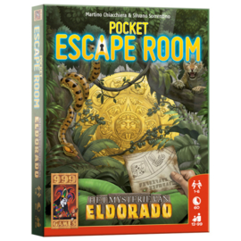 Spel Pocket Escape Room: Het Mysterie van Eldorado