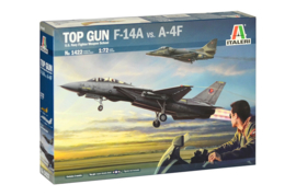 US Navy Fighter Top Gun - F-14A vs A-4F - 1:72