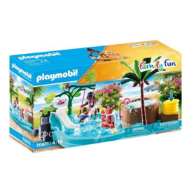 Playmobil 70611 Kinderzwembad met Whirlpool