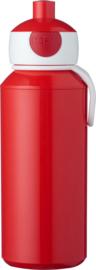 Mepal Campus Pop-Up Drinkfles 400 ml - Rood
