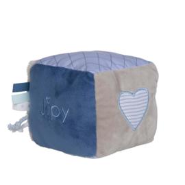 Jipy Kubus met spiegeltje Blauw