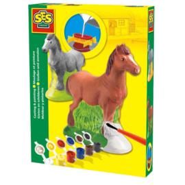SES Gips Gieten en Schilderen Paard